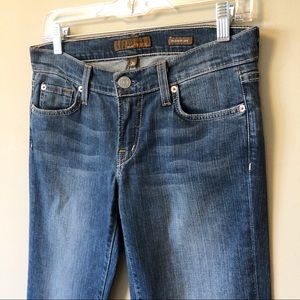 Fossil Jeans - Fossil | Never-worn medium wash relaxed flare jean
